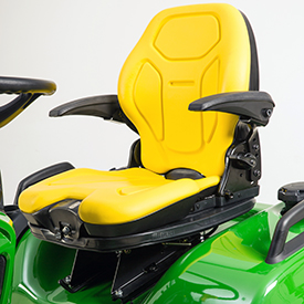 John Deere Riding Mowers | New Air Ride Seat For X700 Signature Series  Tractors